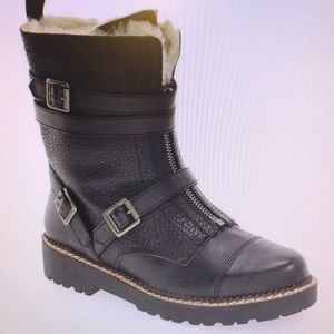 Genuine shearling lined Boot